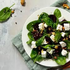 salade d'épinard, betterave et feta : Recette de salade d'épinard, betterave  et feta - Marmiton